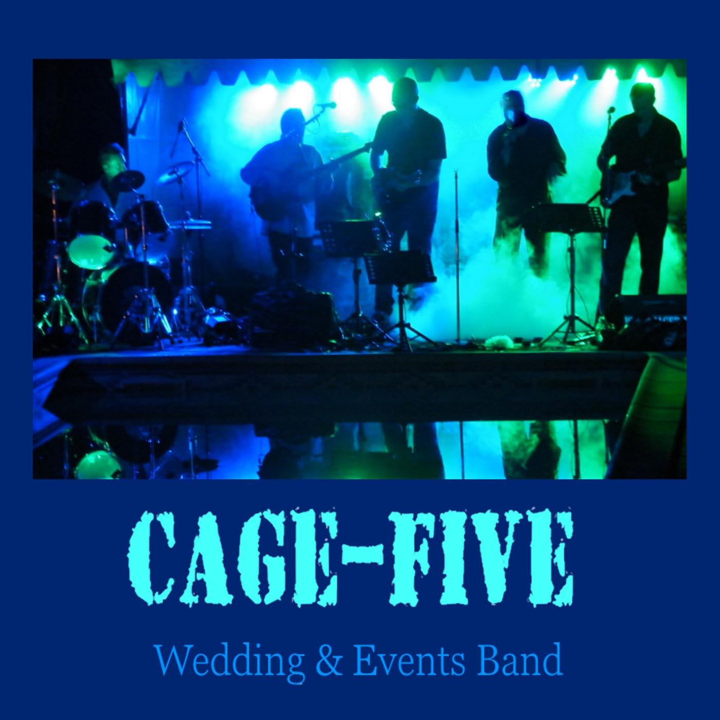 Cage Five animation musique mariage